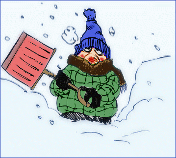snow shoveling 2