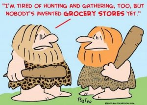 cave man grocery stores