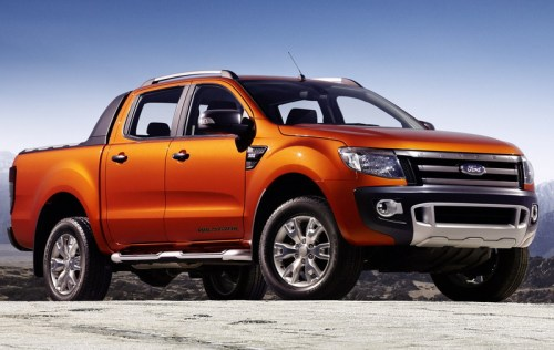 This is the new Ranger pickup. 4.7 billion people in the world can buy one of these, but I can't.